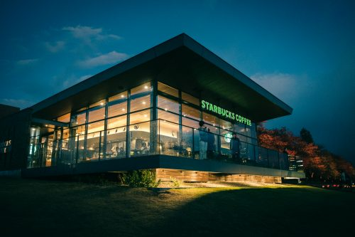 Toyama City's Starbucks is one of the most beautiful in the world.