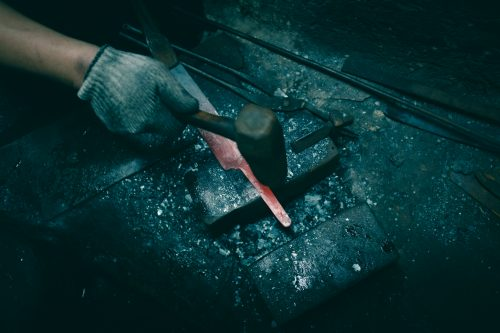 Elaboración de un cuchillo