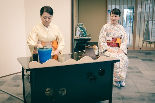 Ceremonia del té, Osaka, Japón.