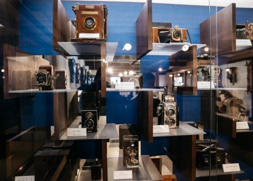 Colección de cámaras Aoyagi en Kakunodate, Akita.