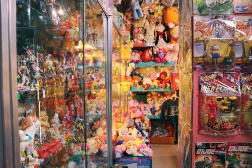 2000 Toys en el barrio de Koenji, Suginami, Tokio, Japón