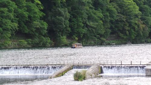 Vue du pont Togetsukyo