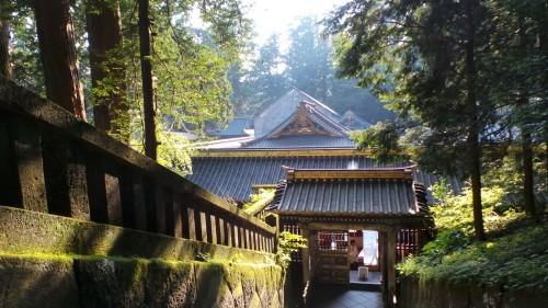 Mausolée de Tokugawa Ieyasu au temple Toshogu à Nikko