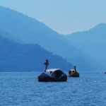 Le lac Chuzenji à Nikkō, idéal pour une balade en pédalo-cygne