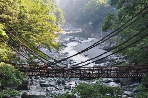 kazurabashi, shikoku