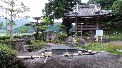 Temple qui abrite le plus grand Fudō en bois du pays, Kunisaki, Oita sur l'île de Kyushu