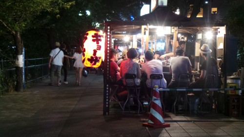 Top 10 Kyūshū : dîner autour d'un stand Yatai