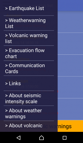 L'application Safety Tips pour prévenir les catastrophes naturelles au Japon.