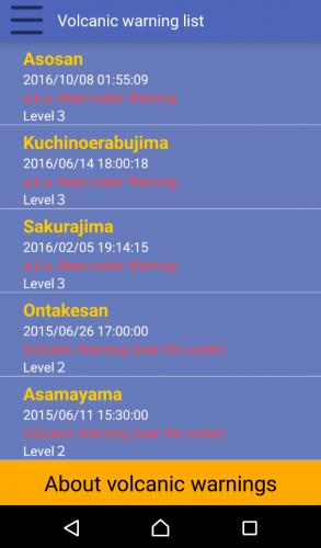 L'application Safety Tips pour prévenir les catastrophes naturelles au Japon.