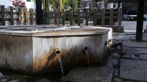 Le charmant quartier de Nakamachi à Matsumoto, Japon.