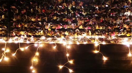 Illuminations d'hiver de l'île d'Enoshima près de Tokyo, Ryuren no kane, Japon.