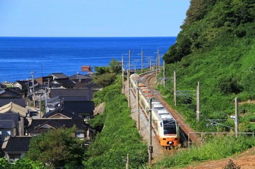 De la gare de Niigata à la ville de Murakami