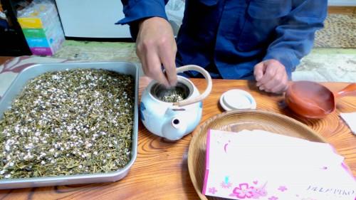 Expérience en Nouhaku à Izumi : préparation de genmaicha