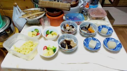 Expérience en minpaku à Izumi : cuisine maison