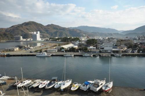 Le port de Matsuzaki, Matsuzaki, l'un des plus beaux villages du Japon situé dans la péninsule d'Izu à Shizuoka.
