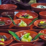 Hamamatsu : cuisine végétarienne et calligraphie au temple Okuyama Houkouji