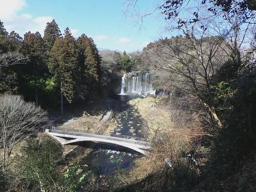 Chutes de Shiraito près du mont Fuji dans la ville de Fujinomiya, Shizuoka, Japon.