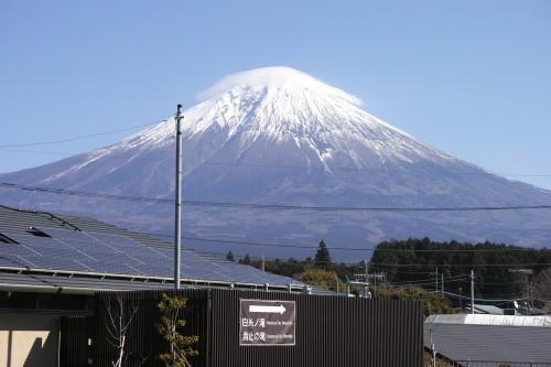 Fujinomiya, l'une des quatre routes menant au Fuji, Shizuoka, Japon.