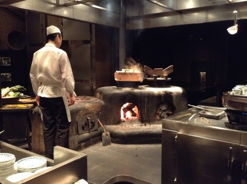 Restaurant de la ville d'Obuse dans la préfecture de Nagano, Japon.