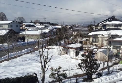 Hébergements dans la ville d'Obuse dans la préfecture de Nagano, Japon.