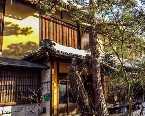 Visite de la ville d'Obuse dans la préfecture de Nagano, Japon.