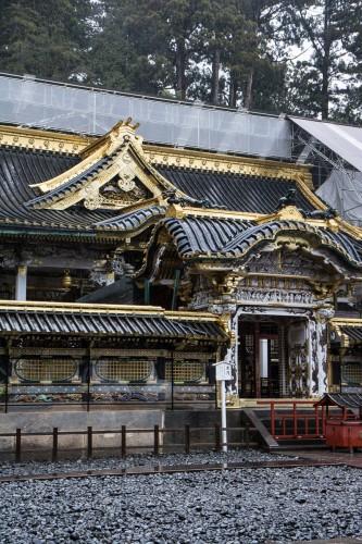 la porte Kara-mon au sanctuaire Toshogu à Nikko