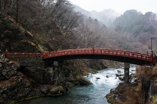 le pont Shin-kyo près du sanctuaire Toshogu à Nikko