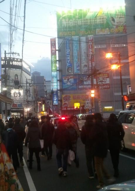 Den Den Town au Japon a Osaka, quartier des geek, otaku et gamers