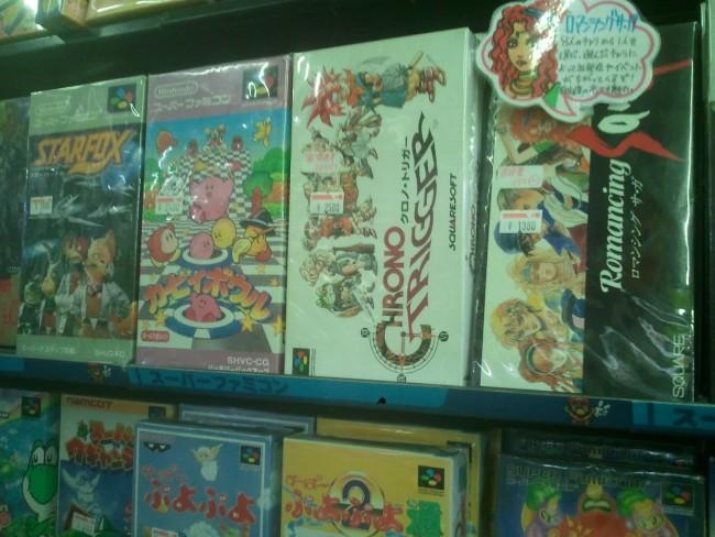 Les grands classiques des jeux vidéos à Den Den Town à Osaka