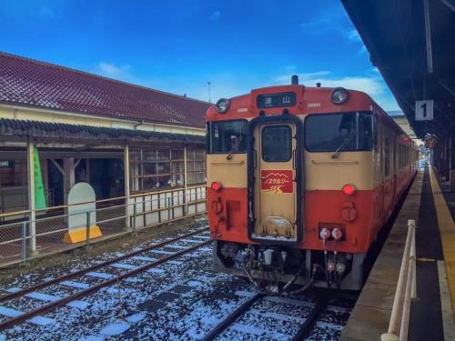 Prenez le train local et utilisez le billet JR Seishun 18 Kippu