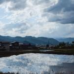 Faire du vélo dans la campagne japonaise, à Hida Furukawa (Gifu)