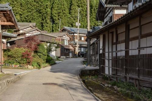 Le Takane, un village tout près de Murakami