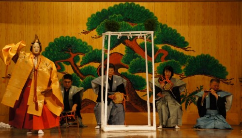 Le théatre Nô sur l'île de Sado, dans la préfecture de Niigata