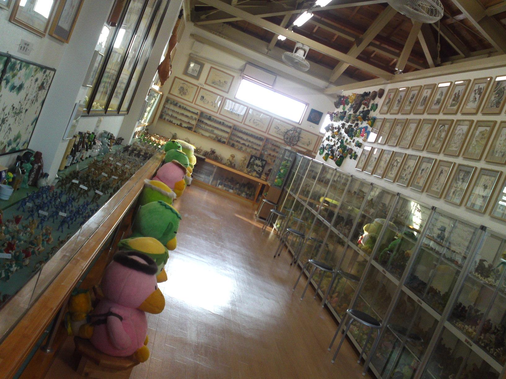 Collection de Kappa au Musée de Kappa de Tach-chan's dans la Ville de Yaizu, toutes les récompenses