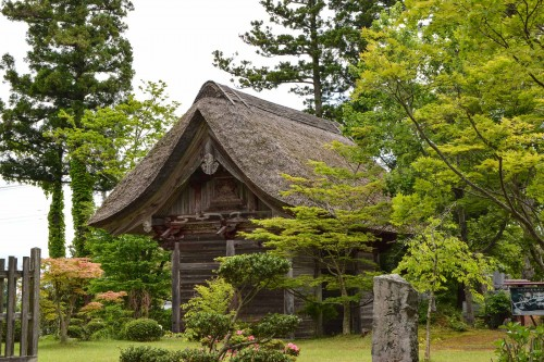 Le temple Myosenji est un site historique à voir sur l'île de Sado, Niigata