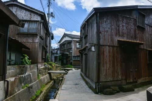 Shukunegi, un village de pêcheur authentiques sur l'île de Sado, dans la préfécture de Niigata