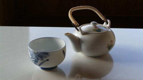 Une tasse de thé au Japon