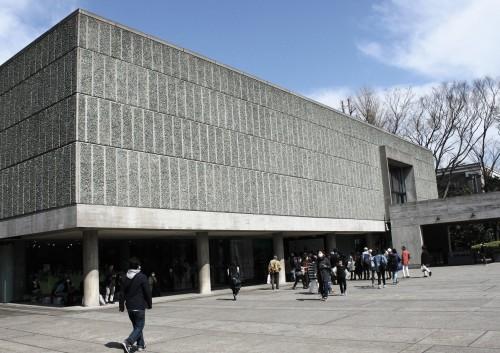 L'architecture à Tokyo : Musée national de l'art occidental par Le Corbusier