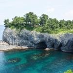Sur les traces de Jacques Mayol avec les paysages maritimes de Karatsu, Saga.