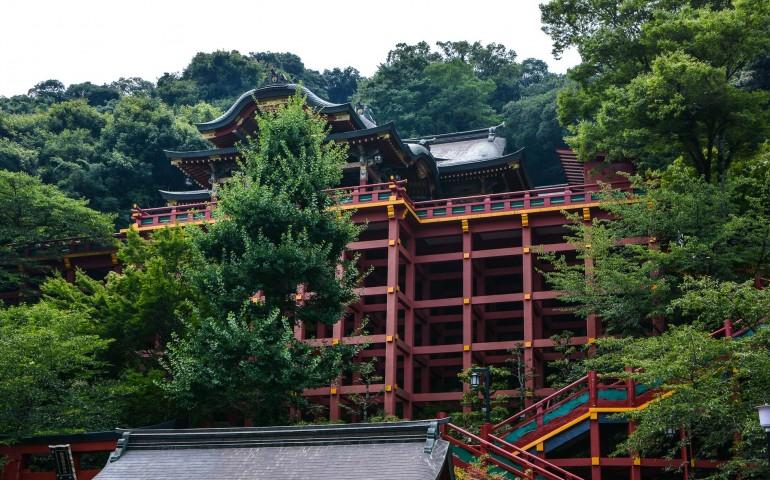 Le sanctuaire Yotuko Inari dans la ville de Kashima, préfecture de Saga