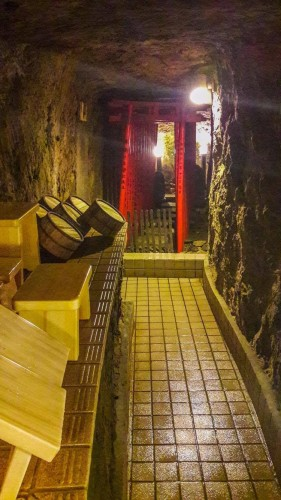 Iwamotorou Ryokan, le ryokan de plus de 700 ans à Enoshima avec les bains