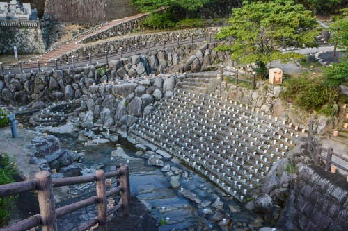 Le village de potiers d'Okawachiyama tout près d'Imari dans la préfécture de Saga avec son festival