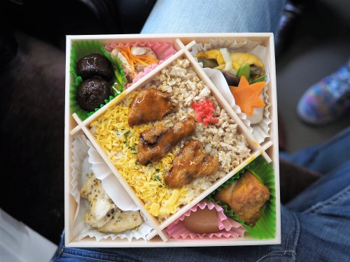 Ekiben, bento, train, gare, streetfood, Japon, Tottori