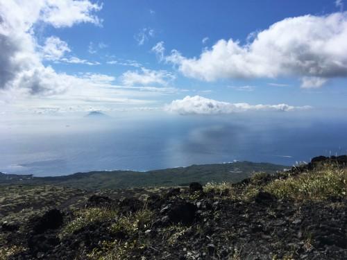 Oshima, Pacifique, île de Tokyo, cratère, Mihara, Toshima