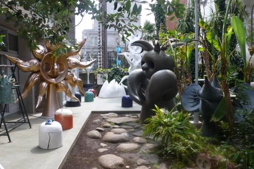 Jardin, Taro Okamoto, Aoyama, Tokyo, Museum, Musée, Japon