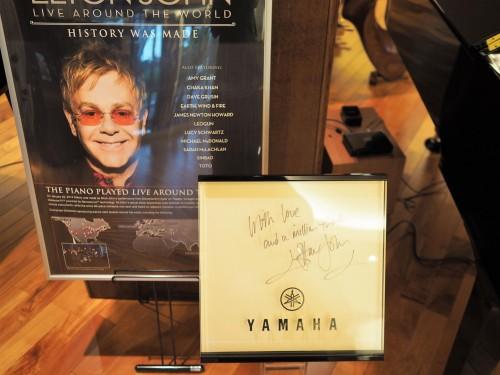Pianos Yamaha, usine, visite, piano à queue, Elton John