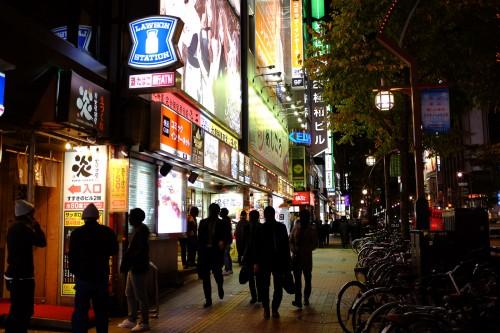 susukino, nuit, salarymen, sapporo