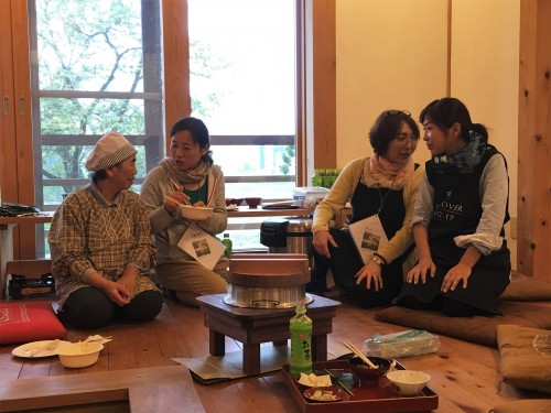 Yamakoshi, écotourisme, agriculture, Japon, Niigata, repas