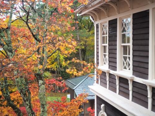 Karuizawa, montagne, nagano, shinkansen, automne, hôtel Mikasa