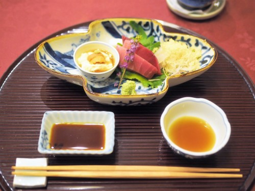 Karuizawa, montagne, nagano, shinkansen, automne, tsuruya ryokan, sashimi, kaiseki